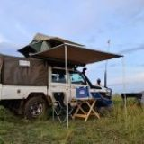 Rent a Car with Rooftop Tent in Rwanda